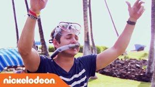 Top Ten Wipeouts | Paradise Run | Nick