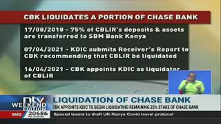 CBK appoints KDIC as Chase Bank liquidator