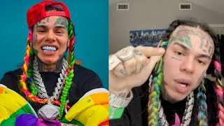 "6IX9INE Says WHY He Snitched On IG LIVE & Talks About Haters... ""I'm Sorry Nobody Was Loyal To Me"""
