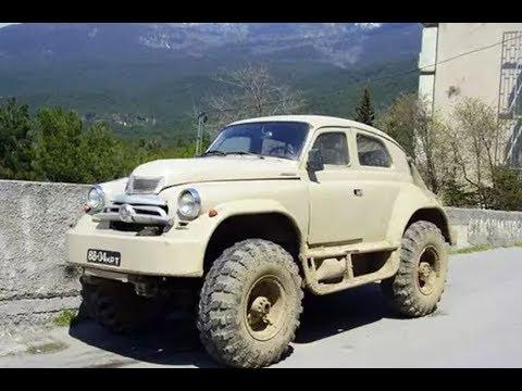 Необычный и крутой тюнинг автомобилей ГАЗ M-20 Победа