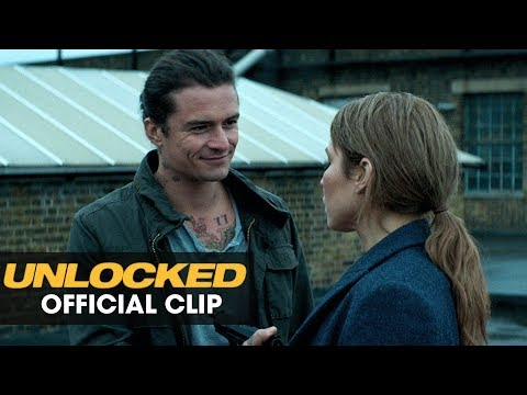 "Unlocked (2017 Movie) Official Clip - ""Bad Idea"" - Orlando Bloom, Noomi Rapace"