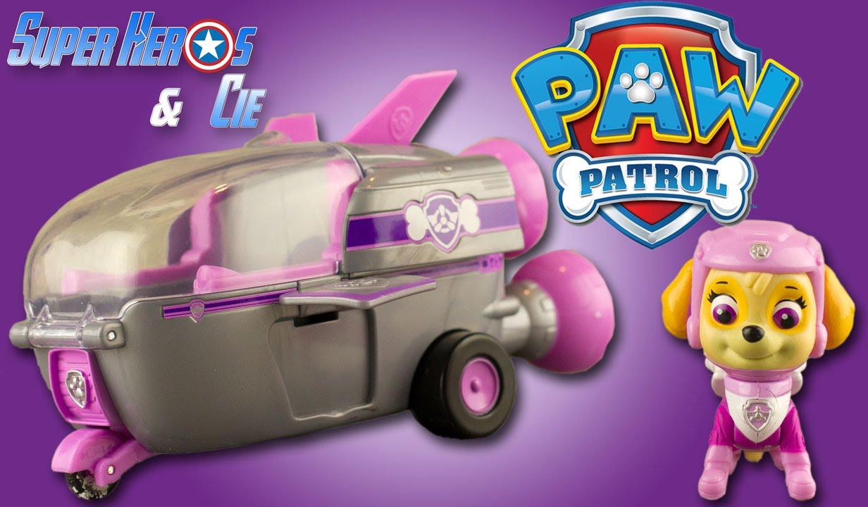 pat patrouille stella vaisseau spatial paw patrol skye rocket ship jouet patrulla canina. Black Bedroom Furniture Sets. Home Design Ideas