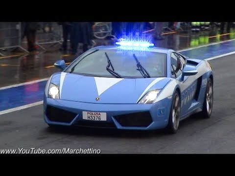 Lamborghini Gallardo LP560-4 Police Car