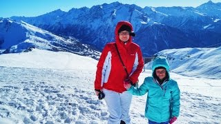 Горнолыжный курорт Сестриер. Подъем на гору Фрайтеве.(, 2017-01-16T20:15:06.000Z)