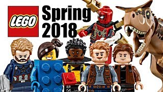Top 10 Most Wanted LEGO Sets of Spring 2018!