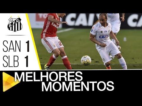 Santos 1 x 1 Benfica | MELHORES MOMENTOS | #Vila100 (08/10/16)