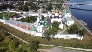 Кострома: Свято-Троицкий Ипатьевский мужской монастырь, август 2020.