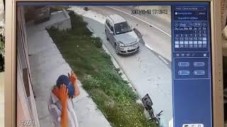 Accident de motocicleta la Probota in Iasi