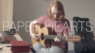Tori Kelly - Paper Hearts - Fingerstyle Guitar Cover by James Bartholomew