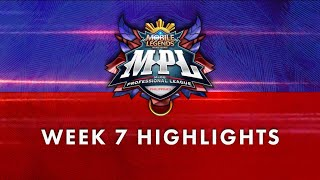 MPL-PH Season 7 Week 7 Highlights