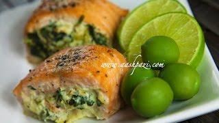 Salmon Roll Recipe