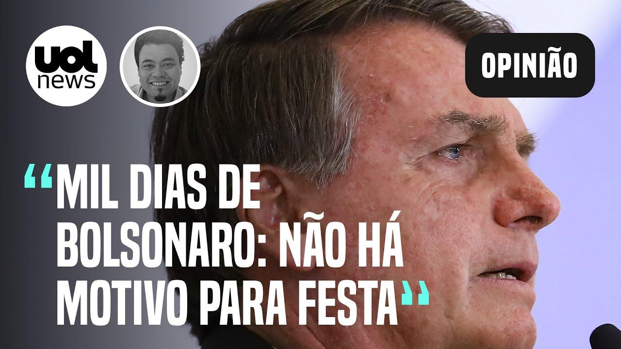 Download Bolsonaro completa 1000 dias de governo com números assombrosos, diz Sakamoto