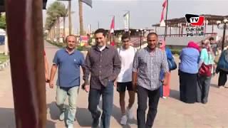 علاء مبارك يؤازر نجله «عمر» في أول مران له بـ«الأهلي»