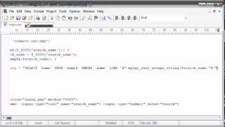 Beginner PHP Tutorial - 132 - LIKE With a Search Engine Example Part 3