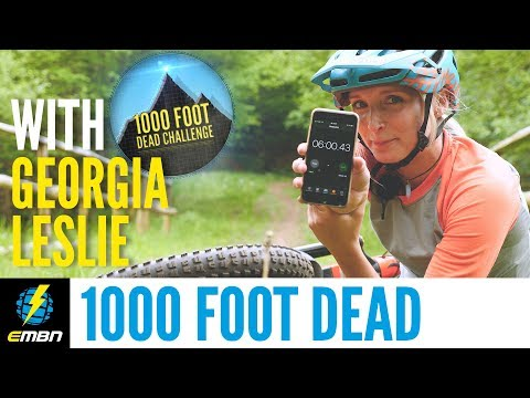 EMBN Vs Specialized's Georgia Leslie | 1000 Foot Dead Challenge