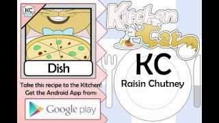 Raisin Chutney - Kitchen Cat