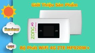 Bộ Phát WiFi 4G ZTE MF920W+ Tốc Độ Khủng 150Mbps/s