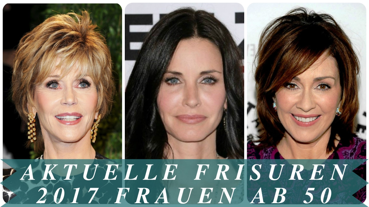 Aktuelle Frisuren 2017 Frauen Ab 50 Youtube