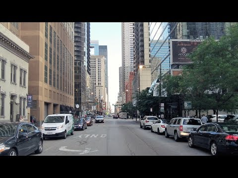 Walking on State St. in Downtown Chicago (July 24, 2017)