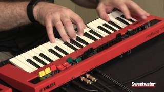 Download lagu Yamaha Reface YC Synthesizer Demo by Sweetwater MP3