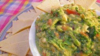 Соус гуакамоле из авокадо - видео-рецепт
