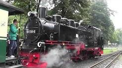 Schmalspurbahn auf Rügen