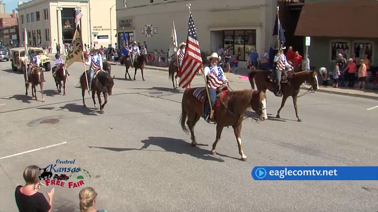 Kansas dickinson county abilene - Dickinson County Central Kansas Free Fair Parade 2016