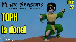 Creating an AVATAR Game! | TOPH's Model is Done! | [Day 77] [Dreams PS4]