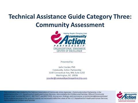 Category 3   Community Assessment