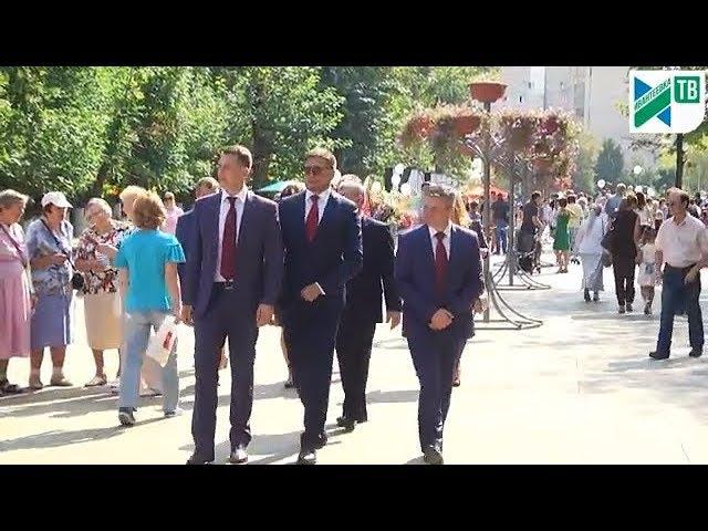 Белорусская делегация  и пешеходная улица в День города 01.09.18.