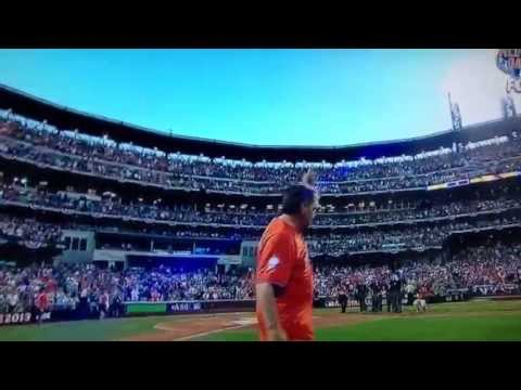 Tom Seaver 2013 All-Star Game ceremonial first pitch