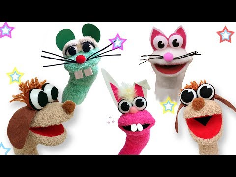 How To Make Animal Sock Puppets - Ana | DIY Crafts