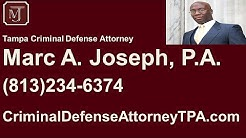 Lawyer Tampa FL | Tampa Criminal Defense Lawyer | Tampa FL Defense Lawyer