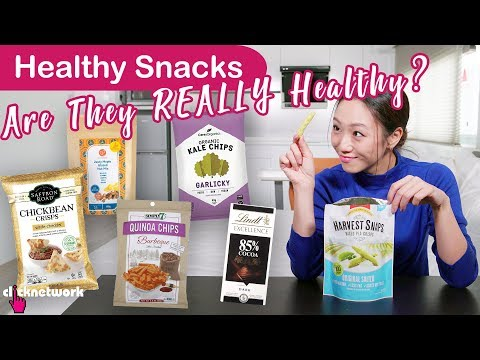 Healthy Snacks - Are They REALLY Healthy?  - Tried and Teste