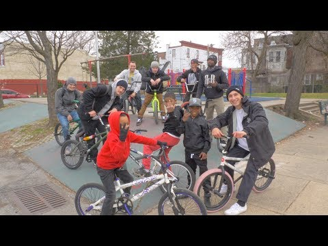 REAL BMX IN THE HOOD (NORTH PHILLY)
