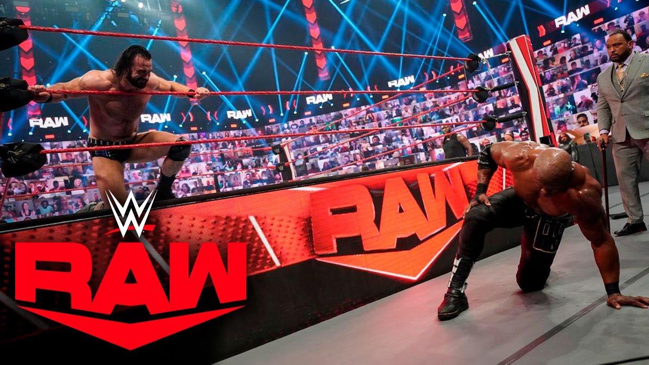 DREW MCINTYRE DESTROZA A BOBBY LASHLEY  RAW 14 de Junio 2021 RESULTADOS #RAW