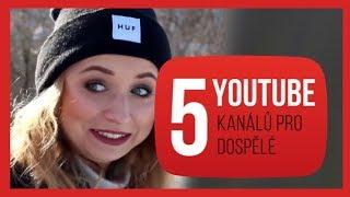 5 YOUTUBE kanálů pro dospělé