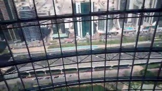 Dubai Jumeirah Emirates Towers Hotel - Elevator to top floor