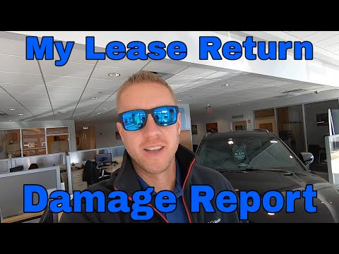 My Chevy Lease Return (Follow Up Video) Damage Costs
