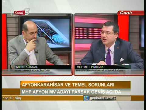 MHP Afyonkarahisar Milletvekili Adayı Mehmet PARSAK 3. Bölüm