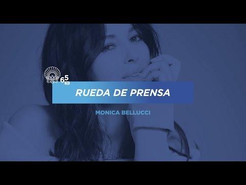Rueda De Prensa ''Premio Donostia Monica Bellucci'' - 2017