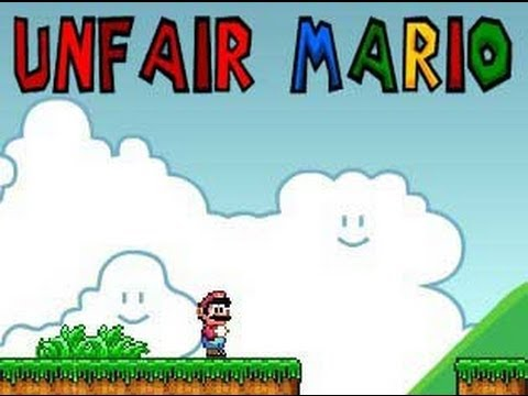 "Let's Play: ""Unfair Mario"" (with NEWMrFlyboy619)."