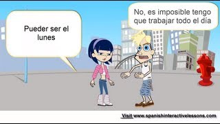 Intermediate Spanish Conversation: Making Plans With A Friend Real Dialogues To Learn Spanish