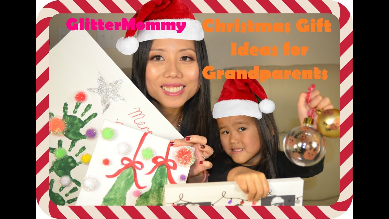 Glittermommy Christmas Gift Ideas For Grandparents Dec 2015 Youtube