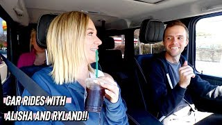 car rides with alisha and ryland!!      *and taylor lol