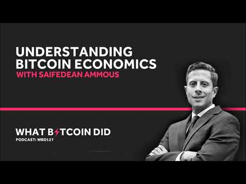 Saifedean Ammous On Understanding Bitcoin Economics