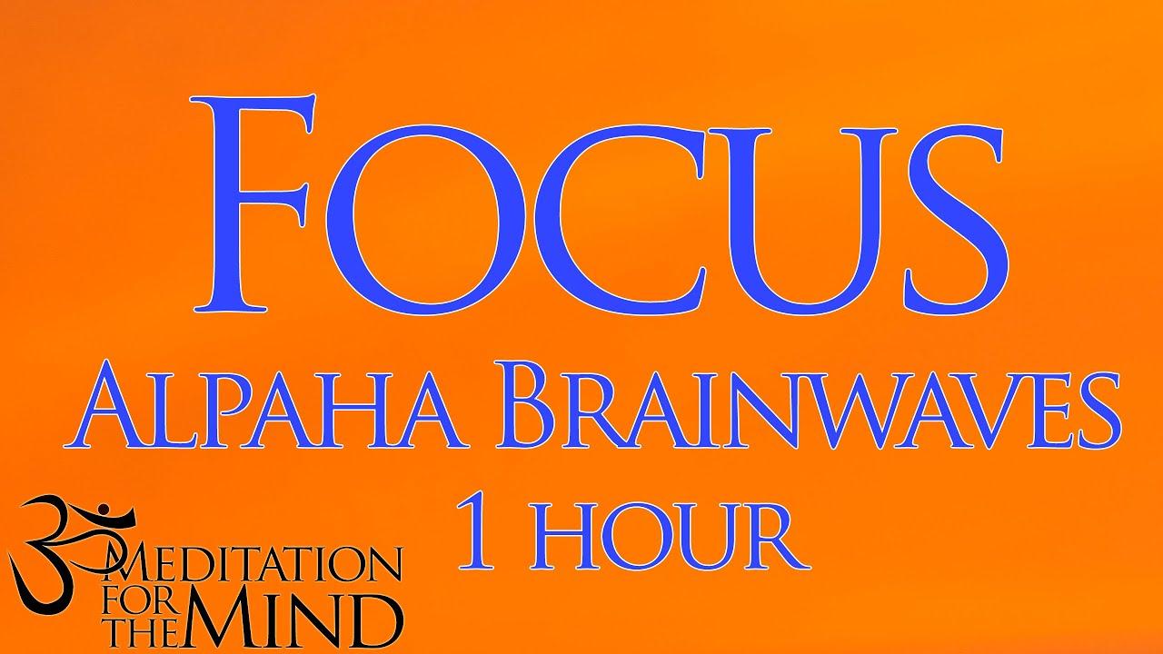 Very Powerful 1 Hour Focus Booster Alpha Brainwave For Study Aid