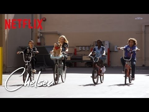 Riding Bikes with the Stranger Things Kids [Exclusive] | Chelsea | Netflix