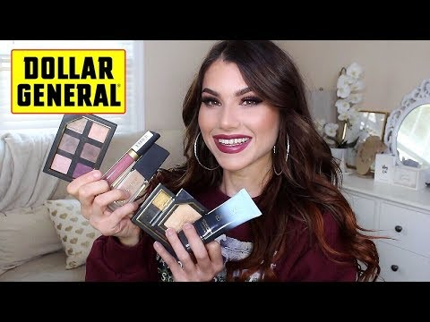 TRYING DOLLAR GENERAL MAKEUP!