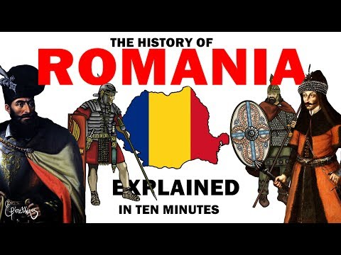 The history of Romania explained in 10 minutes